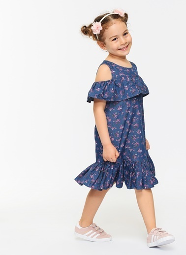 Morhipo Kids Elbise İndigo